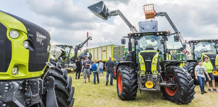 Fricke Landmaschinen auf der Tarmstedter Ausstellung