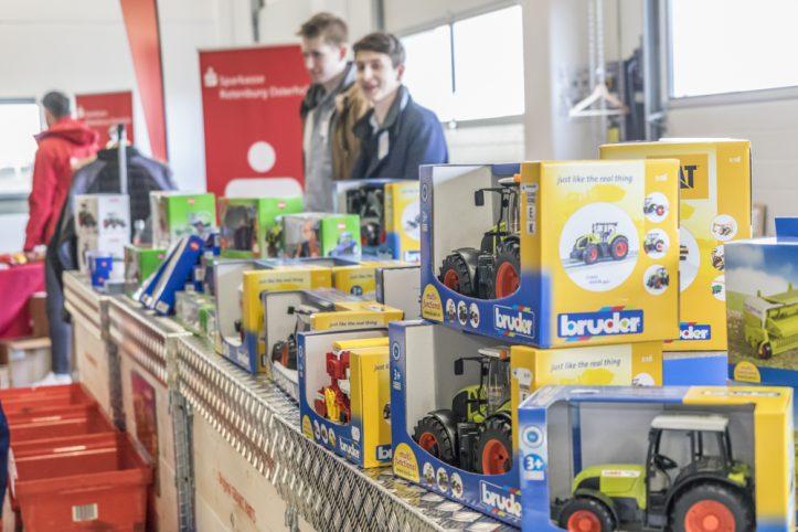 Fricke Landmaschinenschau 2018: Spielzeugverkauf in Heeslingen