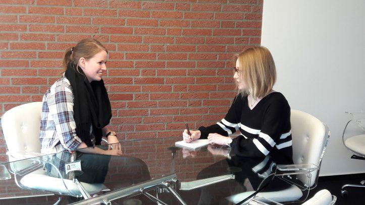 Interview mit Michelle Schucher zum Berufsinformationstag in Rotenburg