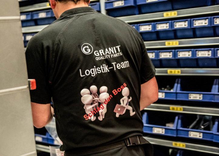 Schlag den Boss - GRANIT Logtistikzentrum