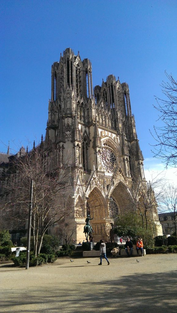 GRANIT Frankreich Kathedrale Reims