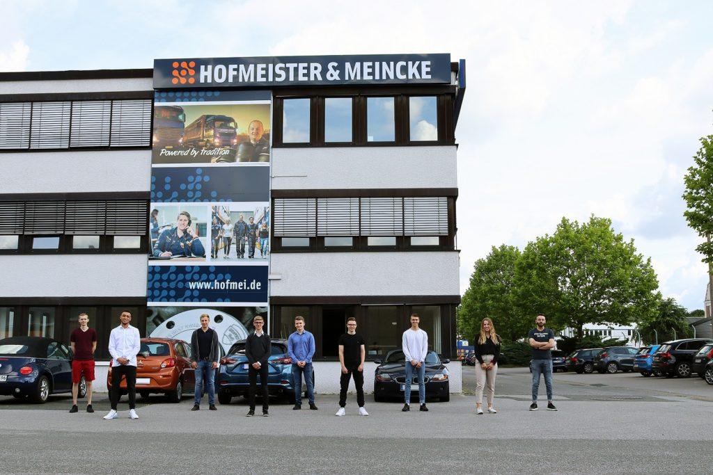 FRICKE Ausbildungsstart Ausbildung bei Hofmeister und Meincke Bremen