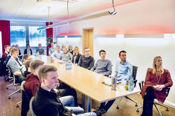 Azubi Sitzungen bei Fricke 2018