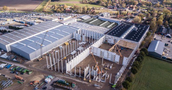 Logistik Erweiterung Bauphase
