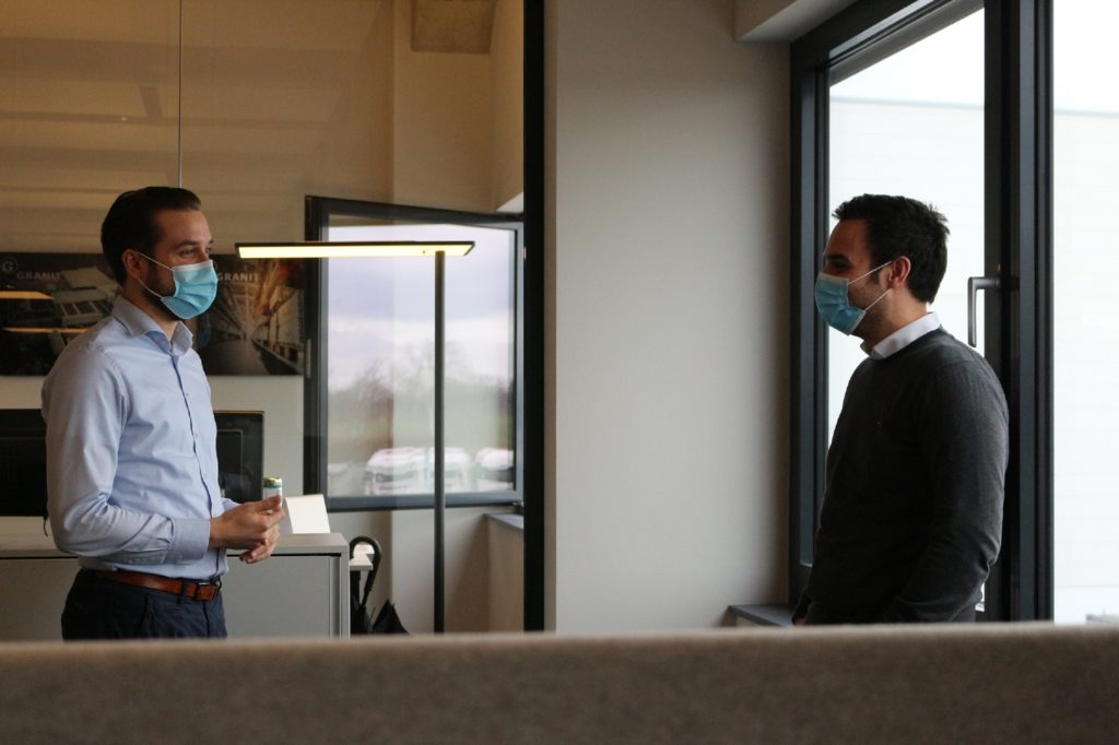 Teamleiter Oliver (rechts) Leiter Pricemanagement Aaron (links)