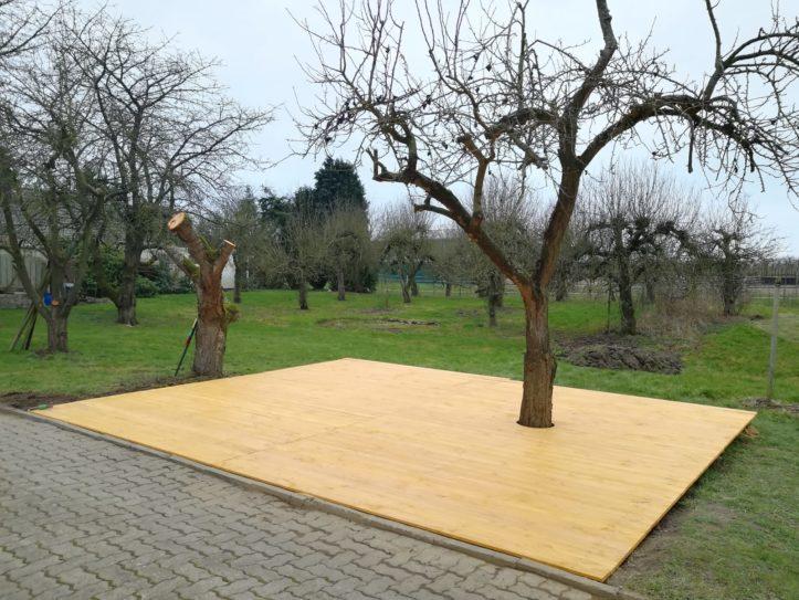 Garagentheater Jork Open-Air-Bühne