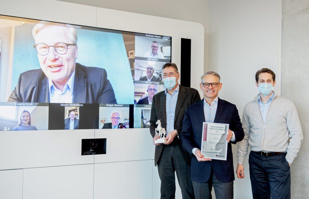 Verleihung des Niedersächsischen Außenwirtschaftspreis