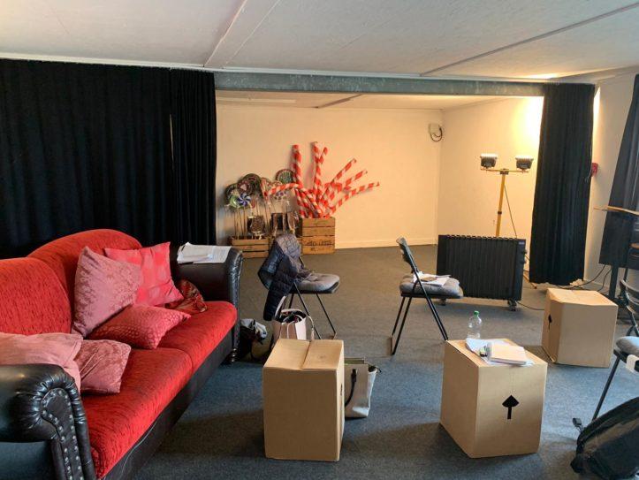 Garagentheater Jork Proberaum