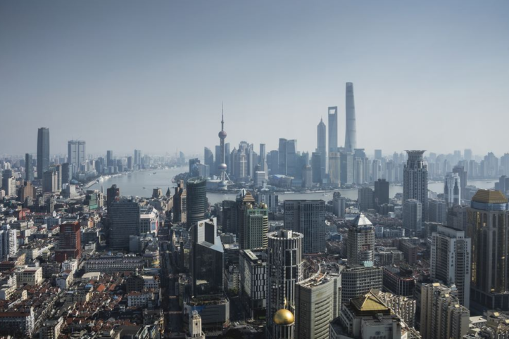 Fricke China Skyline Shanghai