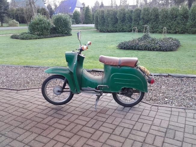 Freizeit Fricke Azubis: Oldtimer Motorroller